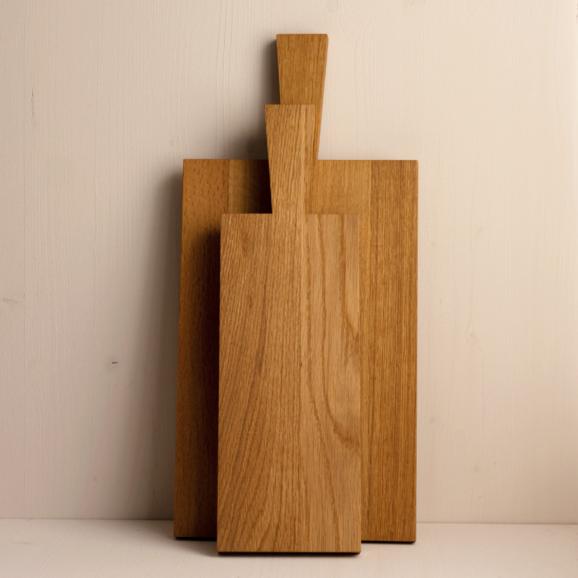 Holzbrett Eichenholz hell gross und schmal von Raumgestalt