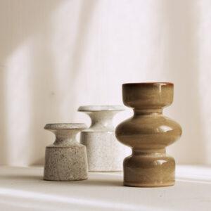 Keramik Kerzenleuchter