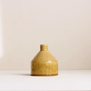 gelbe Keramik Vase