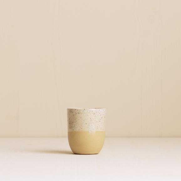 Espresso becher natur sand