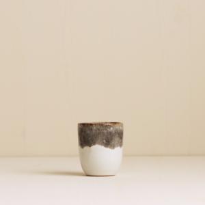 Espresso becher steingrau weiss von onomao