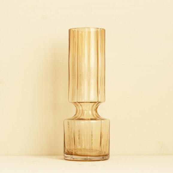 mittelgrosse schmale Vase in caramel von broste copenhagen