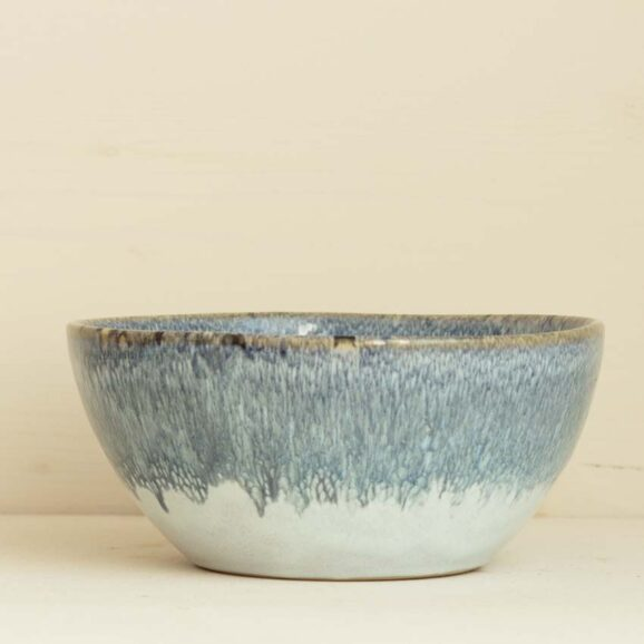 Buddha Bowl in blaugrau weiss von onomao