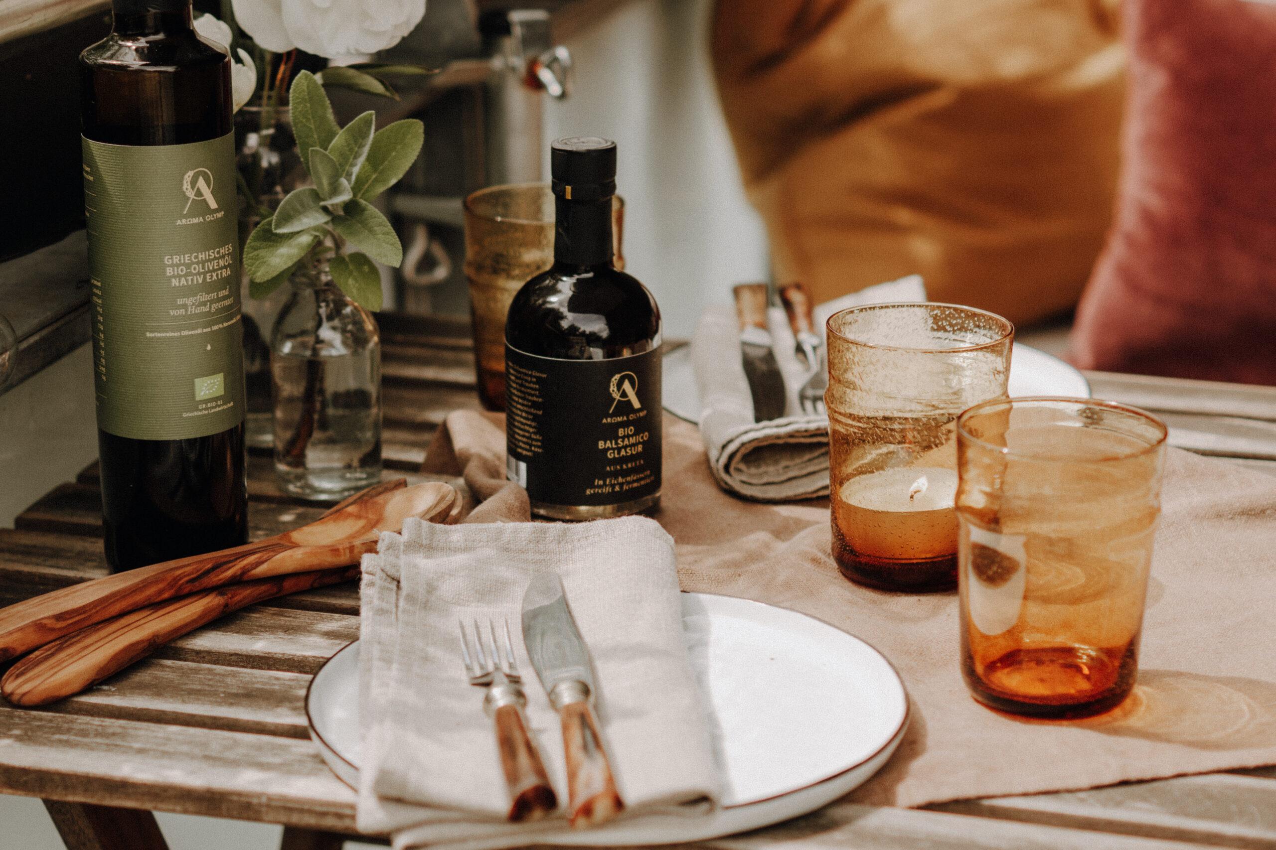 Die perfekten Begleiter für deinen nächsten Grill-Abend – Olivenöl & Balsamico von Aroma Olymp