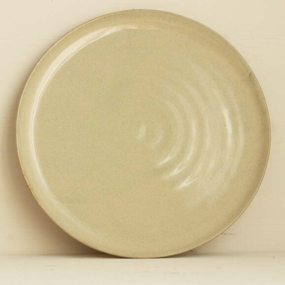 grosser Teller beige von onomao