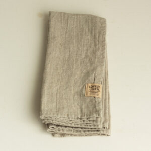 Leinen Serviette beige Lovely Linen
