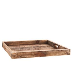 Holz Tablett recyceltes Holz Bei Blumenthals