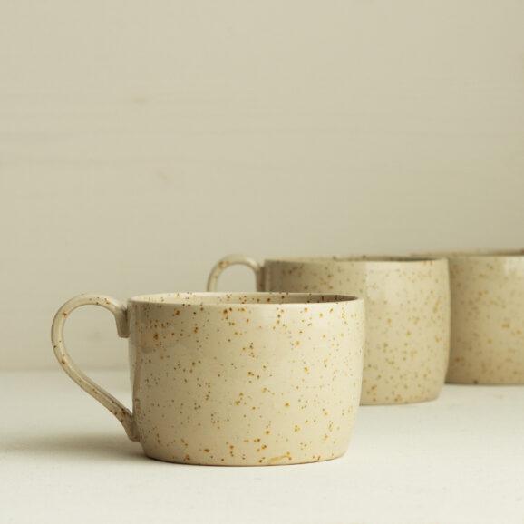 handgemachte Keramik Nüko Tasse mit Henkel